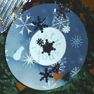 let it snow cd ornament ornament crafts dot