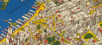 Manhattan Neighborhoods Map This Illustrated 1926 Map Of Manhattan Shows The City As It Was