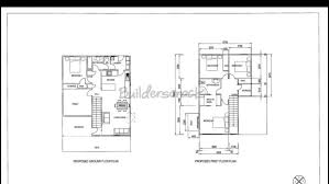 ground floor extension plans existing home floor plans home plan second storey extension