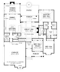 craftsman style house plan 3 beds 2 00 baths 2046 sq ft plan 929 6