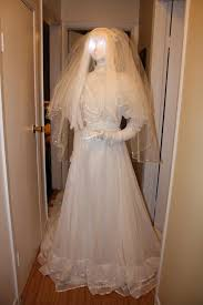 ghost wedding dress prop showcase dead brides ghost brides