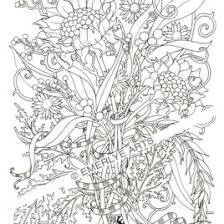 free coloring pages adults country chic cottage