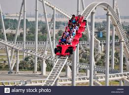 in abu dhabi roller coaster the fastest roller coaster in the at 240 mph