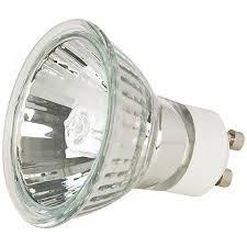 tesler 50 watt gu10 mr16 halogen light bulb 01771 lamps plus