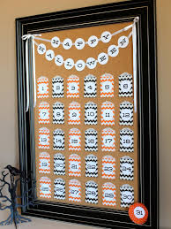 halloween countdown calendar how tos diy