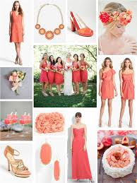 coral and gold bridesmaid dresses bridesmaid dresses page 3