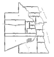 2nd Ward Map Chicago by Ward Map U2013 1876