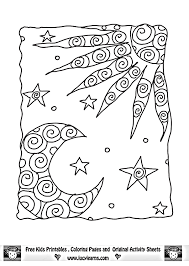 sun moon coloring pages image sense coloring pages