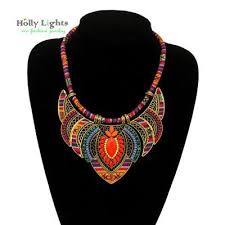 ethnic necklace vintage images Female vintage choker pendants necklaces big boho necklaces ethnic jpg