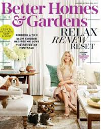 Plain Better Homes And Gardens Magazine Subscription To Inspiration - Better homes interior design