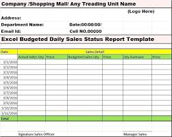 weekly status report template excel sales report template excel best my reports writing designs images