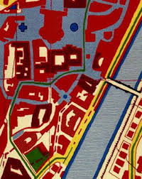 topographic carpets the map rug by harry allen is the modern