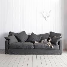 Black Sofa Slipcover by Best 20 Linen Sofa Ideas On Pinterest Linen Couch White Corner