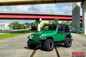 jeep car green 2004 jeep wrangler bullet motorsports