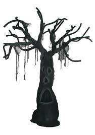 spooky halloween tree decoration