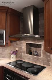 Kitchen Backsplash Cherry Cabinets by Best 20 Corner Stove Ideas On Pinterest Stainless Steel