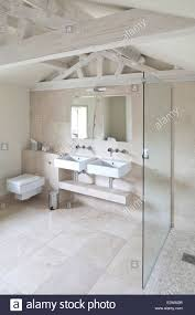 modern bathroom in boutique bed and breakfast the reading rooms