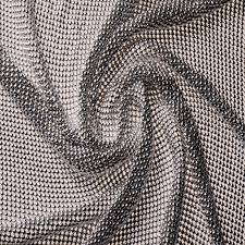 quality golden silver beaded metal mesh fabric metallic cloth