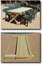 Folding Picnic Table Bench Plans by Neat Folding Picnic Table U2026 Pinteres U2026