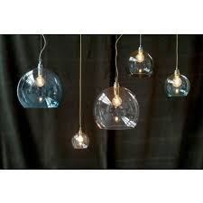 large clear glass pendant light traditional large hanging globe light in clear glass dimmable