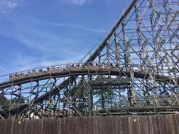 El Toro Roller Coaster Six Flags Six Flags Great Adventure 4 10 17 Theme Park Trip Reports