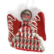 coke can w santa ornament coke store