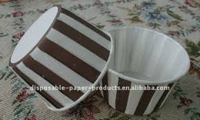 sweet treat cups wholesale wholesale brown stripe cupcake muffin liners candy cups