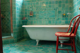 turquoise tile bathroom outside the box bathroom tile ideas