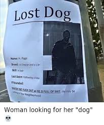 Lost Dog Meme - 25 best memes about hoe lost dogs and funny hoe lost