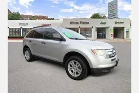 white ford edge used ford edge for sale special offers edmunds