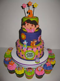 jaeden u0027s dora birthday cake u0026amp cupcakes