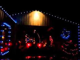 christmas lights lebanon tn a drive through chad s winter wonderland lebanon tn youtube
