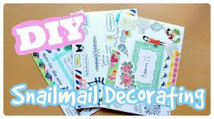 Decorated Envelopes Decor Decorating Envelopes For Mailing Inspirational Home