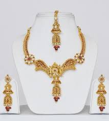 new gold set gold plated polki indian jewellery set clothing indian indian