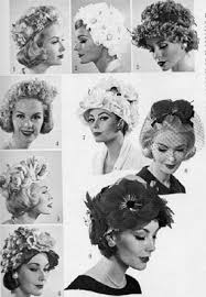 haircutsbfor women in their late 50 s its roots in the early 1950s by the late 1950s hats are frivolous
