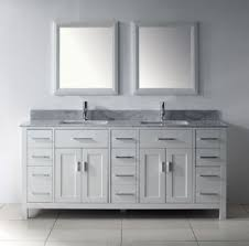 White Wooden Bathroom Furniture 75inc Contemporary Sinks Bathroom Vanity S1004 From White