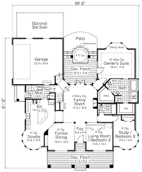 traditional style house plan 3 beds 2 baths 1961 sq ft plan 51