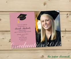 high school graduation announcement best 25 high school graduation invitations ideas on