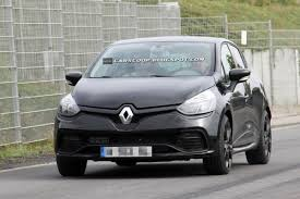 spy shots new renault clio rs mk4 caught completely undisguised