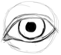 how to draw realistic eyes with easy step by step drawing lessons