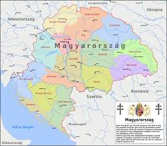 Budapest Hungary Map Greater Hungary By Arminius1871 On Deviantart