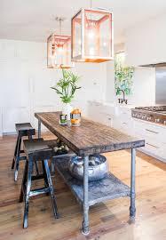metal kitchen island best 25 industrial kitchen island ideas on wooden