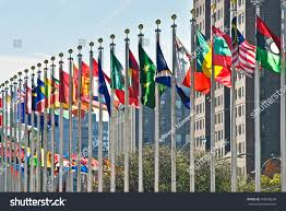 Flags Of Nations Images Flags All Nations Outside Un New Stock Foto 545605258 Shutterstock
