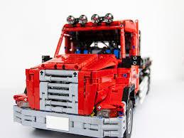lego technic truck moc flatbed tow truck lego technic mindstorms u0026 model team