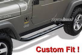 jeep patriot nerf bars tyger 3 side nerf bars fit 07 15 jeep patriot black ebay
