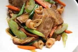 hakka cuisine recipes hakka style stir fry with pork and squid recipe serious eats