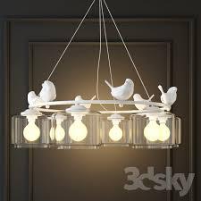 Bird Pendant Light 3d Models Ceiling Light Hanging L Provence Bird Pendant