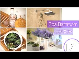 Lavender Bathroom Decor 5 Step Spa Bathroom Bathroom Decor Youtube