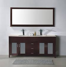 affordable bathroom vanity have double sinks stainless steel