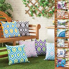 lounger recliner geometric garden patio furniture cushions ebay